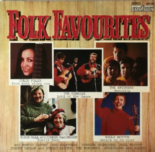 V/A - Folk Favourites (LP) (VG-/VG-)